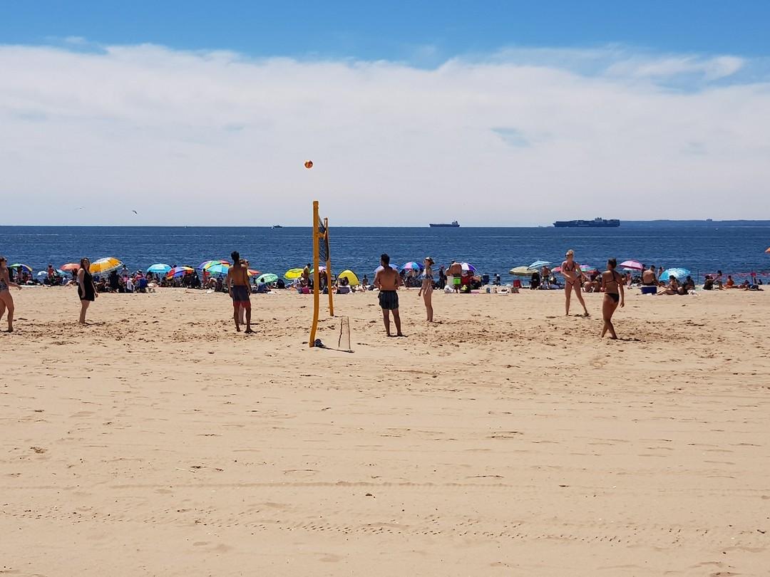 Strand op Coney Island