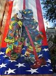 Muurschildering Midtown Manhattan