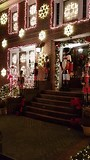 Kerst versieringen in Dyker Heights Brooklyn