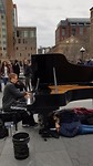 Live piano. Madison square Park
