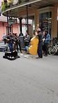 Muziek binnen en buiten. French Quarter
