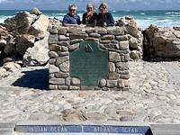 Zuidelijkste puntje van Afrika: Cape Agulhas