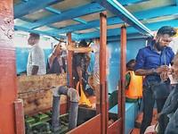 Boot naar Nainativu eiland