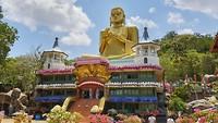Gouden tempel van Dambulla