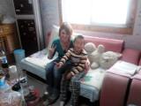 Met Yaobo (het zoontje van Hongxia)