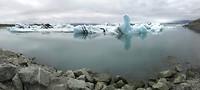 Het Jökulsárlón gletsjermeer