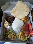 Lunchen uit een doosje