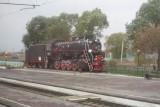 ergens zomaaf oude locomotief