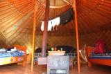 binnenkant tent