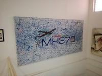 Handtekeningen voor het verdwenen vliegtuig van Malaysia Airlines