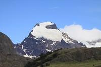 Gletsjer op de berg