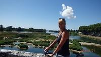 Diana p de brug over de Loire