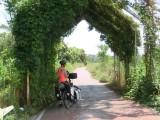 het fietspad naar Rome