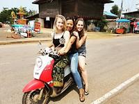 Vervoer op z'n Thais in Soeng Sang