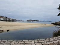Strand van Baiona...