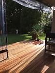 De tuin / lounge van mijn B&B