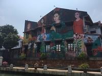 Kunst langs de rivier