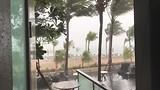 Storm bij Kuta