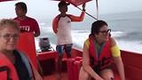 high speed terug naar Lovina over de Balizee