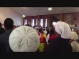 Video kerkdienst in township