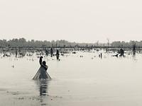 Meer in Cambodia - omgeving Angkor Wat