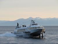 De boot naar Irkoetsk