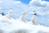 3 little snowman