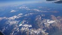 View vanuit het vliegtuig