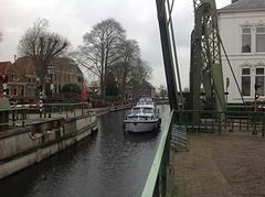 Bruggetje midden in Blokzijl