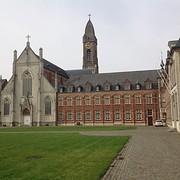 Mijn overnachtingsadres de abdij van Tongerlo