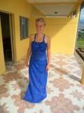 Geertjes zelfgenaaide jurk