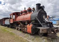 Locomotief in Riobamba