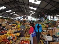 Op de kleurrijke markt