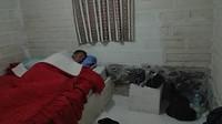 Slapen in ons zouthotel op een bed van zout.