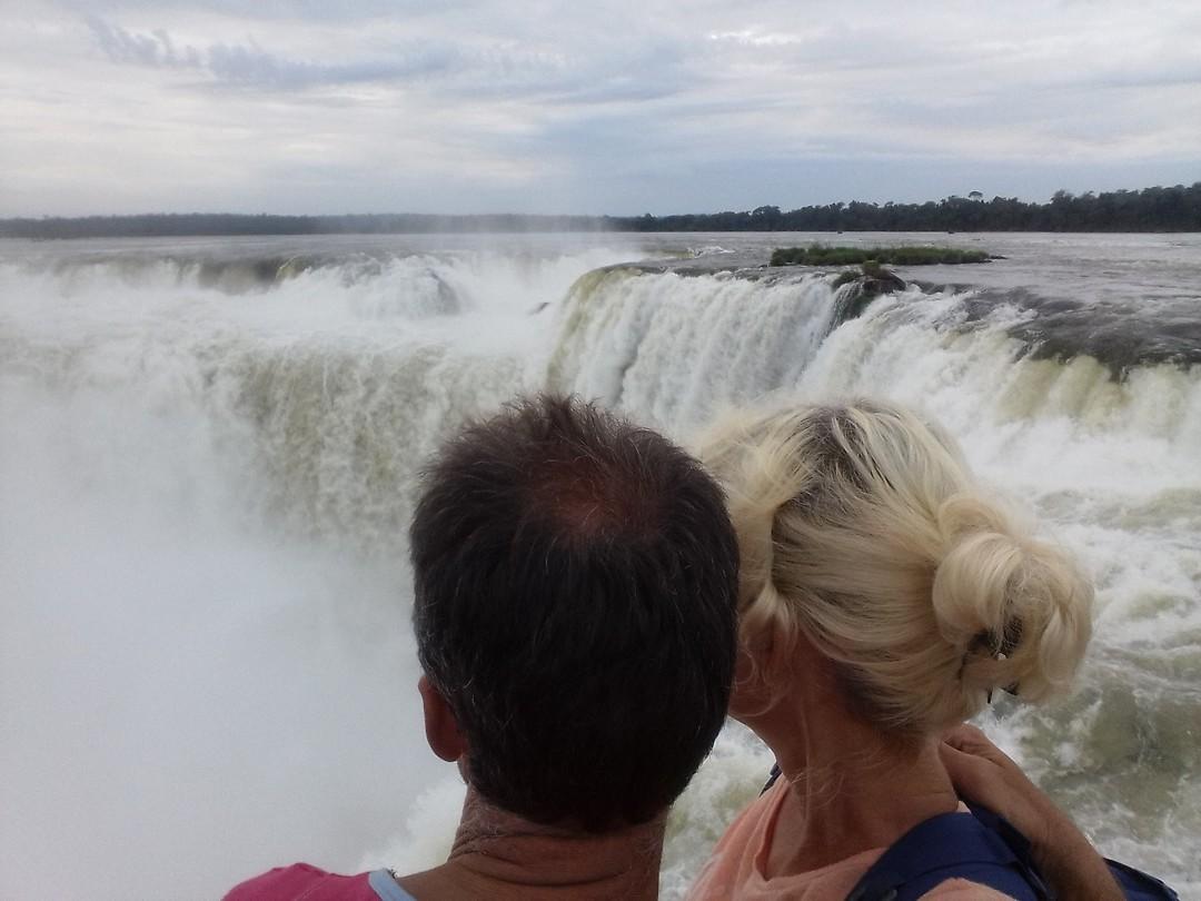 Selfie. Argentijnse kant. Garganta del Diablo