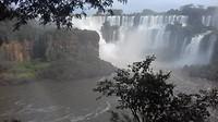 Argentijnse kant. Iguazu cataratas.bewolkt😢