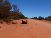 Mereenie Road loop... 175 km. Dirt road