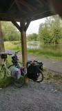 Pauzeren langs de rivier de Dender