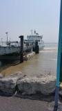 De veerboot voor de overtocht naar Pointe de Grave
