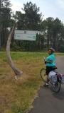 fietsroutebord naar Mimizan