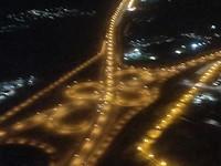 Dubai bij nacht