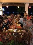 Laatste diner met de groep