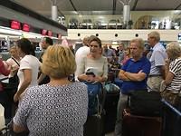 Wachten op de luchthaven in Ho Chi Minh stad