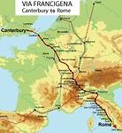 Route Via Francigena