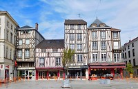 Vakwerkhuizen in Châlons-en-Champagne
