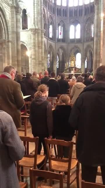 Dienst in de Kathedraal