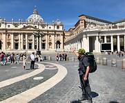 Aankomst in Rome