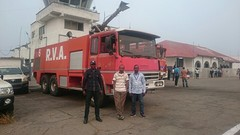 Brandweer Mbuji Mayi aeroport International