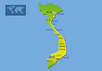 Route 21-daagse rondreis Het Beste van Vietnam