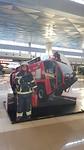 Gek doen op het vliegveld